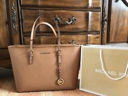 $298 Michael Kors Handbag MK Purse Saffiano Leather Designer Bag