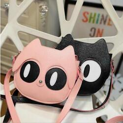 Fashion Cat Body Shoulder Bags For Children Cute Designs Girls Messenger Pouch