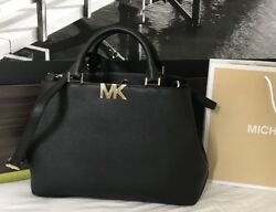 $298 Michael Kors Hamilton Handbag Bag MK Designer Purse