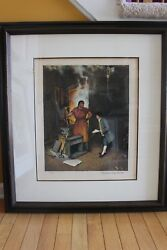 Norman Rockwell Original Pencil Signed Lithograph