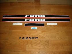Tractor Hood Decal Set To Fit Ford 1720