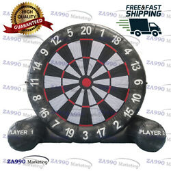 16ft Inflatable Dart Board Golf Foot Game Soccer Kick With Air Blower