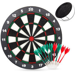 Action Dart Soft Tip Darts And Dart Board Set - Great Games For Kids -rubber 16