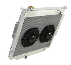3 Row Performance Radiator +10 Fan For 83-94 Ford F-250 F-350 Diesel V8 Mt Only