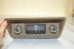 Ford Pinto 1972 1973 1974 Old Vintage Classic Factory Car Dash Radio
