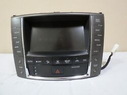 ✅ 08 09 10 Lexus is250 is350 GPS Radio AC Climate Control Info Display OEM Denso
