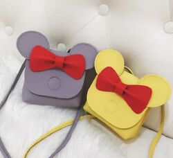 Lovely Bow Knot Fashion Mini Messenger Bag for Girls Kids Children Evening Purse