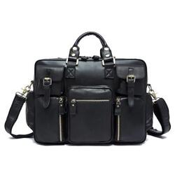Mens Large Size Briefcases Casual and Classic Design for Office Business Bags