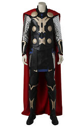The Avengers Age Of Ultron Thor Costume Thor Odinson Costume Plus Shoes Hallowen