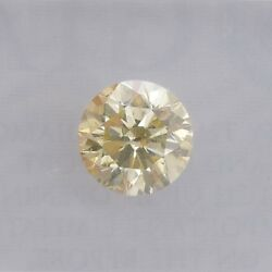 1.01cts Fancy Light Brownish Yellow Loose Diamond Natural Color Round Cut Gia