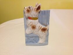Vintage Scottie Dog Wall Pocket ~ Japan ~ Scotty ~ Terrier