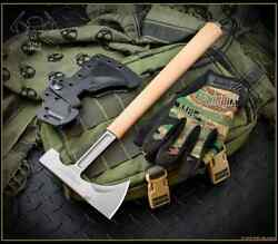 RMJ Tactical Loggerhead Tomahawk 80CRV2 Steel Coyote Brown - Authorized Dealer