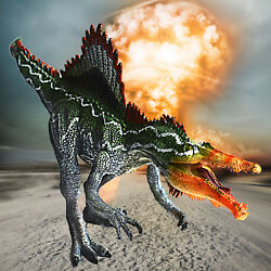 Spinosaurus Action Figure Dinosaur Kids Toy Educational Model Christmas KID Gift $12.59