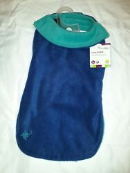 Petco Good2Go Warm and Cozy Reversible Jacket for Dog Blue Teal