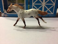 BREYER Stablemates Appaloosa Mare #5393 [A] thoroughbred mold