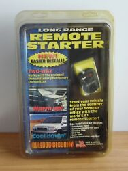 Bulldog Security Remote Vehicle Starter System NEW Model RS82I Automatic transm.