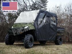 Full Enclosure For Ranger Crew - Hard Windshield Roof Doors And Rear Window