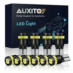 10x Built-in IC Canbus194 2825 168 LED Car interior Light bulb White 24-SMD F12