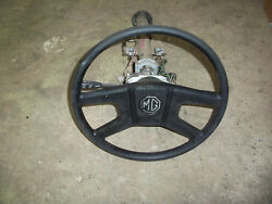 1978 Mgb Steering Column Original Lucas Switches Steering Wheel And Lock Assembly