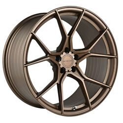 19 Stance Sf07 Forged 19x8.5 Bronze Concave Wheels Rims Fits Audi B8 A4 S4