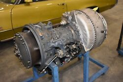 Lycoming T53-L-9A Helicopter Engine With Stand T53 Bell Airboat