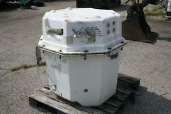Rare Navy Aviation Octo Shipping Container Storage 32 Wide 38 1/2 Tall White