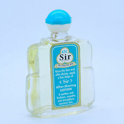 Vintage 4711 Sir After Shave Lotion 60ml Rare 50+ Years