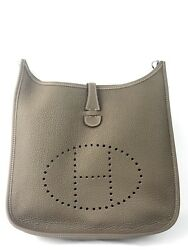 New Hermes Etoupe Clemence Evelyne III PM Payment Plan Available