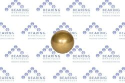 Bearing Warehouse Brass Balls - Metric And Imperial Sizes G500