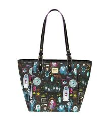 ON HAND Disney Parks Dooney & Bourke Haunted Mansion New Release Large Tote NWT