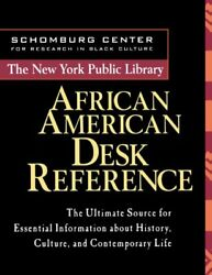 NEW The New York Public Library African American Desk Reference