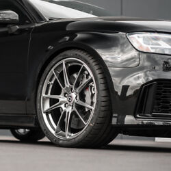 21 Hre Ff04 Silver Concave Forged Wheels Rims Fits Audi Rs5