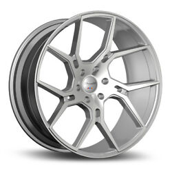 22 Gianelle Dilijan Silver Concave Wheels Rims Fits Jeep Grand Cherokee Srt