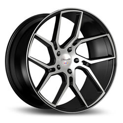 24 Gianelle Dilijan Machined Concave Wheels Rims Fits Cadillac Escalade