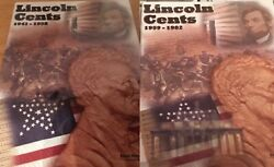The Last Copper Cents Complete Set 1941 - 1982 Pds In Coin Folders