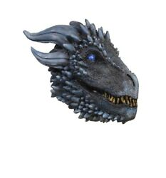 White Walker Dragon Mask - Game Of Thrones - Costume Accessory - Adult Teen