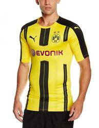 Men's Bvb Authentic Home Football Shirt High Quality Official Clothing