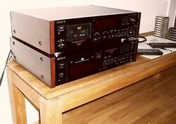 Vintage Sony Cd-player X33es And Dat 55es In Mint Condition.