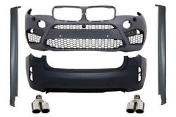 Complete Body Kit BMW X6M F16 15+ M Design Sport Bumper Exhaust Grilles PDC..
