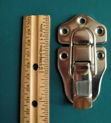 For Some Gibson + Fender Case Latches Brass Large One W / Rivets Draw Latch