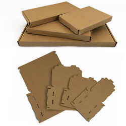 Brown Royal Mail Large Letter Pip Cardboard Postal Boxes C4 C5 C6 High Quality