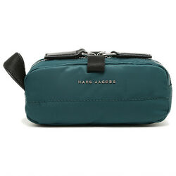 NWT Marc Jacobs Mallorca Skinny Small Nylon CosmeticMakeup Travel Bag in Teal