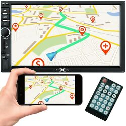 Double Din 7 Hd Mp5 Mp3 Player W/ Touch Screen Usb Sd Rear Camera Work W/ Bt