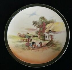 13 1/2 Royal Doulton Rustic England D5694 Charger Lg Display Plate Superb