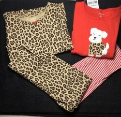 Carters Toddler Girls Mix and Match Scottie Terrier Leopard Print 2T Lot of 2