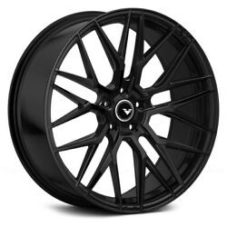 20 Vorsteiner V-ff 107 Forged Concave Gloss Black Wheels Rims Fits Ford Mustang