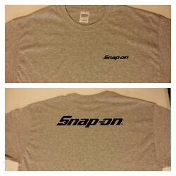 Snap-on tool t-shirt Ash Gray size SMLXL available
