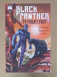 Marvel Comic The Black Panther Fictional Fantasy Books Super Hero Book #1 Issue