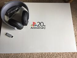 Sony Playstation 4 20th Anniversary Limited Edition Sealed Ps4 And Headset