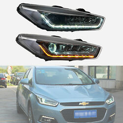 Headlight HID Xenon Projector with LED Turn signal DRL for 2015 Chevrolet Cruze